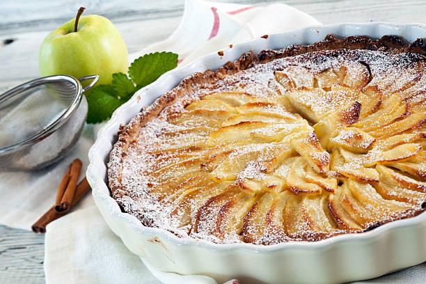 Tarte de maçã e amêndoa 2
