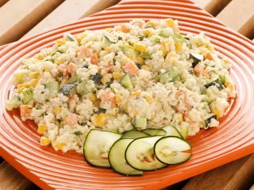 Salada de quinoa com legumes assados 1