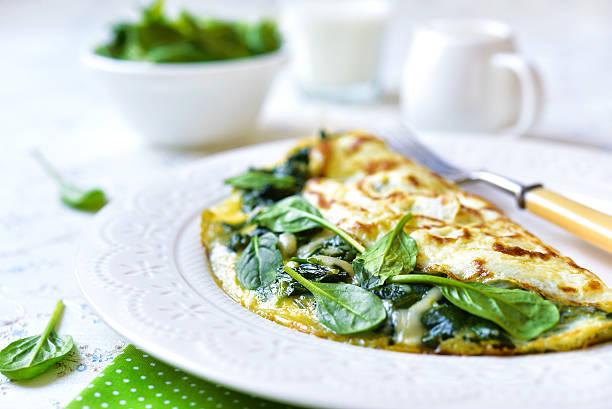 Omelete de Espinafre Super Proteica 2