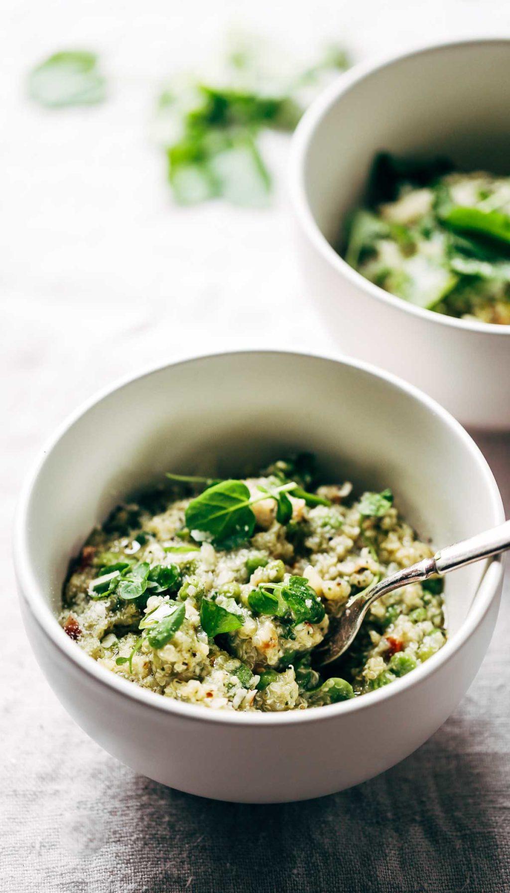 Frango primavera com quinoa 1