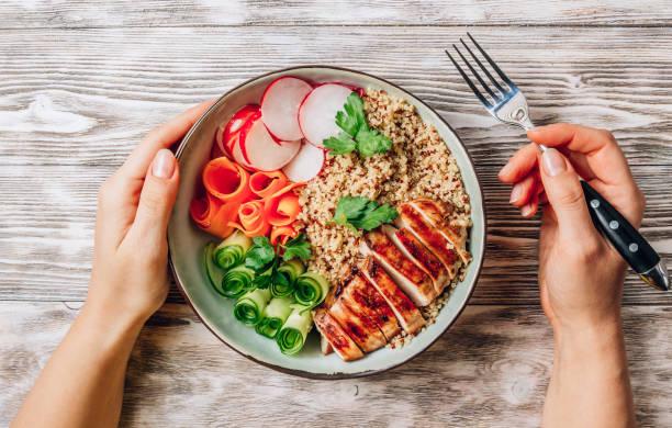 Frango primavera com quinoa 2